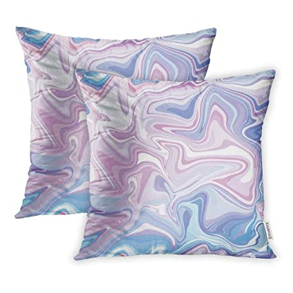 Prime Amazon Com Hfyzt Set Of 2 Throw Pillow Covers Pink Paint Creativecarmelina Interior Chair Design Creativecarmelinacom