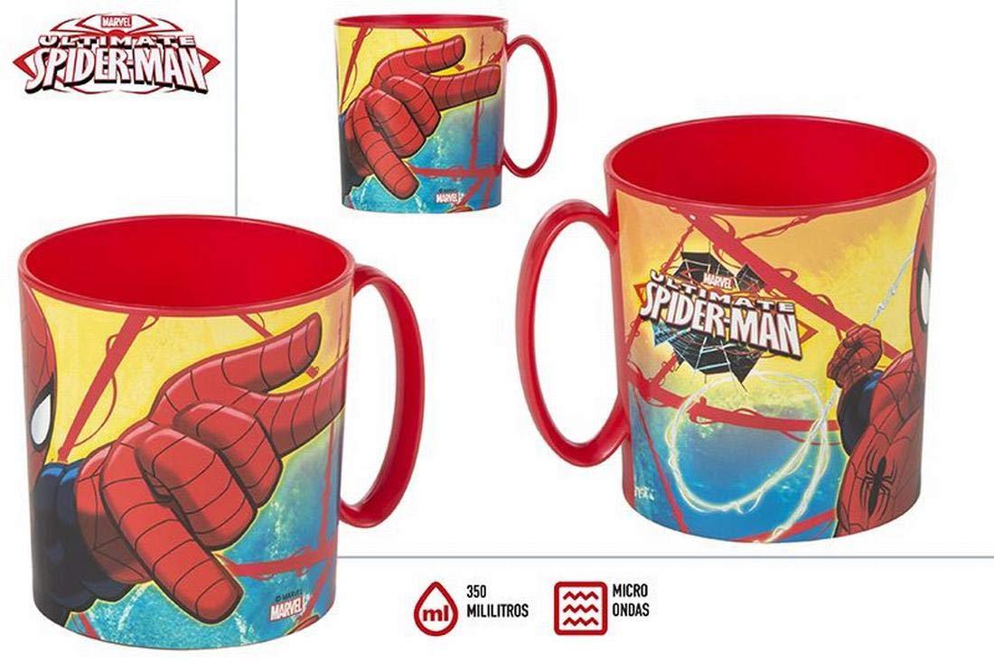 ColorBaby Import Taza Microondas Spiderman (se Venden en Unidades ...