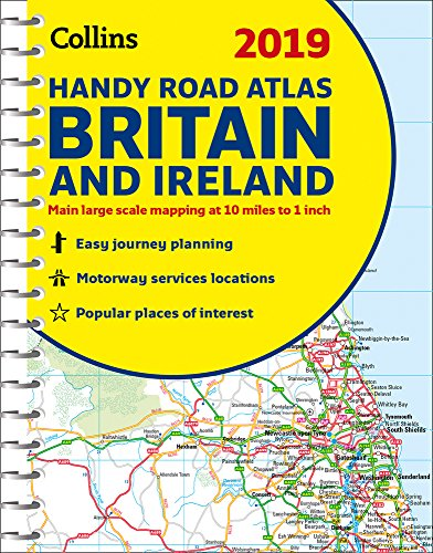 2019 Collins Handy Road Atlas Britain and Ireland...