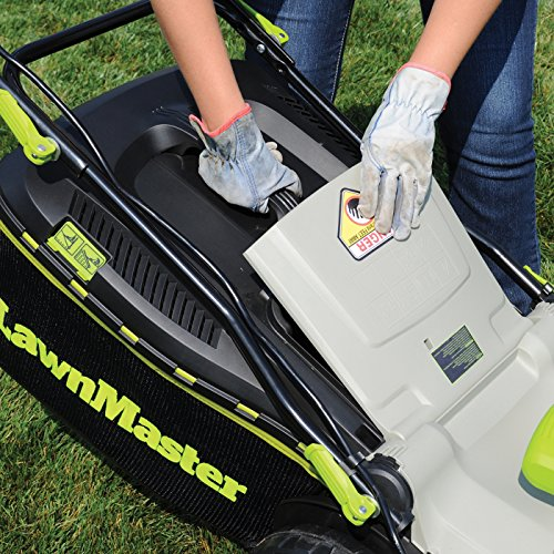Black picture style and design Electric Mulching Walk Behind Lawn Mowers
