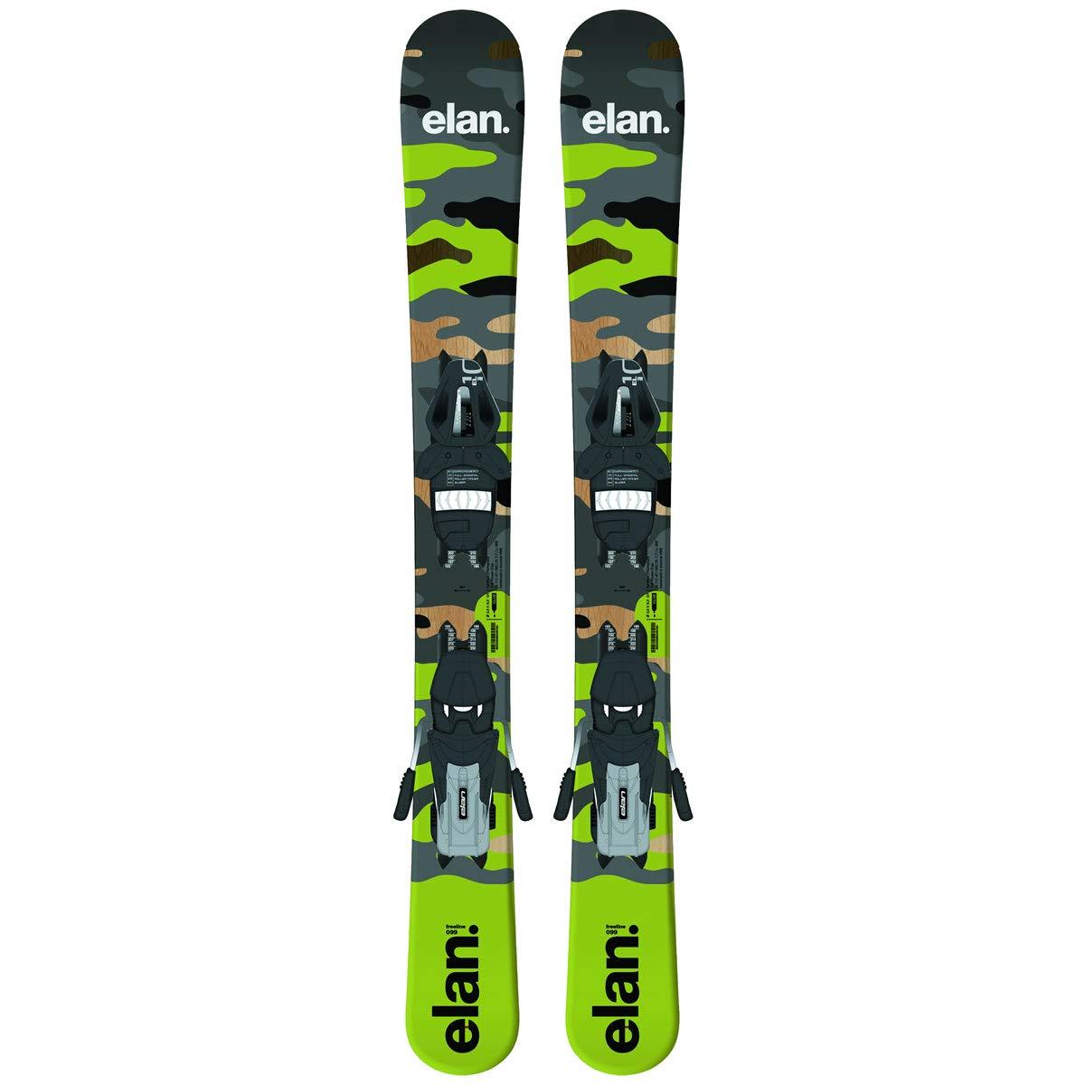 ELAN(エラン) スキーボード 2020 FREELINE CAMO 99cm + EL10.0 SHIFT GW WB90 調整式ビンディング付 フリーライン ファンスキー 19-20 elan スキー板 【L1】