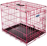 Petmate 21929 Puppy 2 Door Training Retreat, 24-Inch, Pink Review