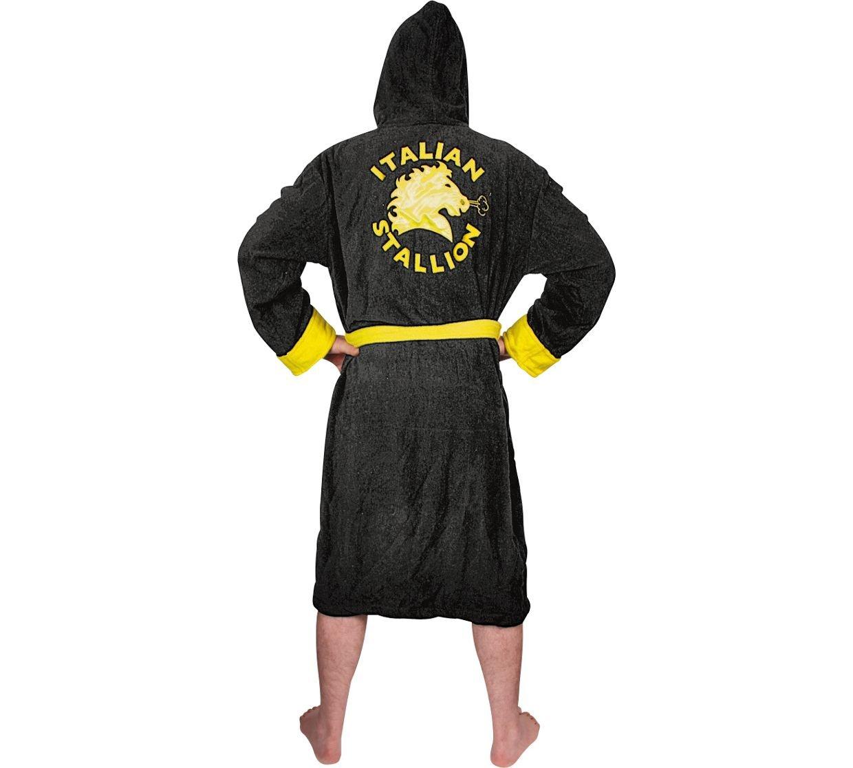 Rocky Boxing - Bata de forro polar para adulto: Amazon.es: Deportes y aire libre