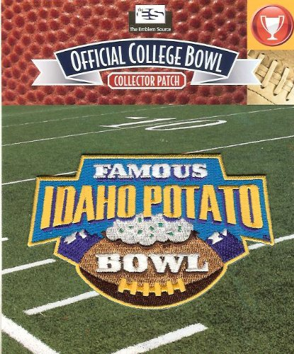2013 NCAA Famous Idaho Potato Bowl Patch - Buffalo vs San Diego State