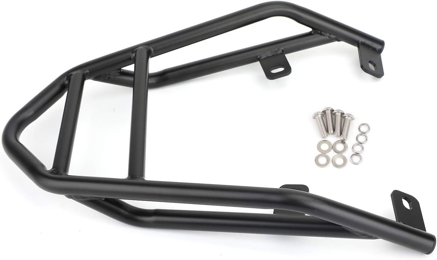 Areyourshop Black Rear Carrier Luggage Rack Fit for Ducati Scrambler 400 803 1100 2016-2019