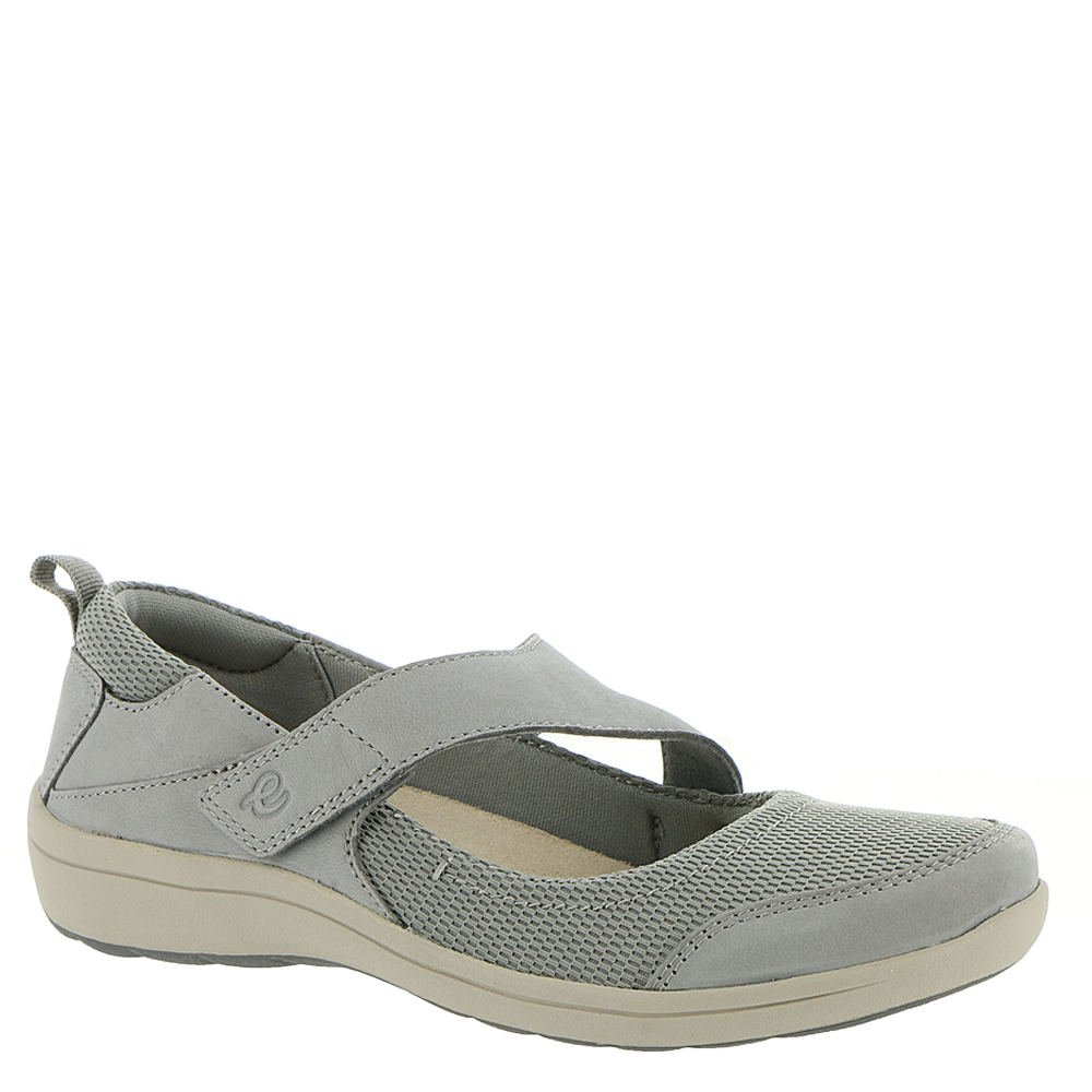 Easy Spirit Women's Luna Mary Jane Flat B07BSVGKRP 8 W US|Grey