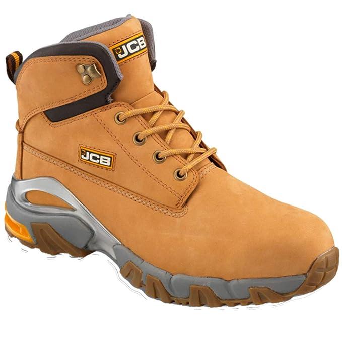 JCB funda de piel con funda impermeable para 4 x 4 botas de ...