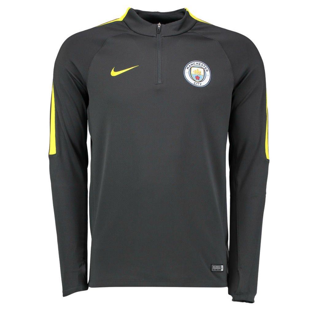 Nike 2016-2017 Man City Training Drill Top (Dark Grau)