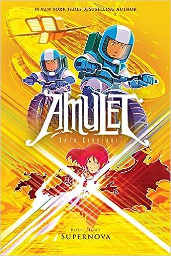 b4d1ca8b3 Amazon.com  Supernova (Amulet  8) (9780545850025)  Kazu Kibuishi  Books