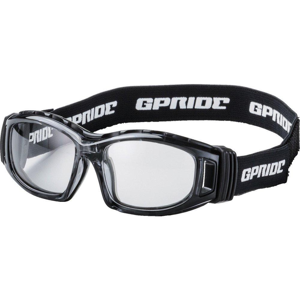 EYE-GLOVE 二眼型セーフティゴーグル グレー (度なしレンズ) GP-98-GR セーフティゴーグル(通気孔付タイプ) B0795D92Y8