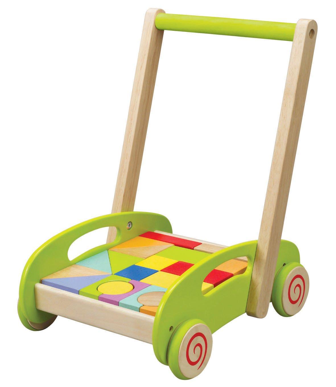 Hape Fill 'n Building Block Cart