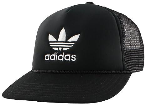 9a9f09c8dc6 Amazon.com  adidas Women s Originals Trefoil Mesh Snapback Cap ...