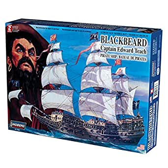 Lindberg 1/250 scale Blackbeard Pirate Ship