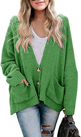 Fashion Valley Womens Long Sleeve Chunky Cable Knitted Button Ladies Grandad Long Cardigan 8-22 Plus Size UK 16-18 XL Charcoal