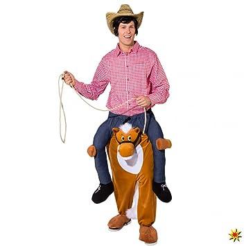 Huckepack Kostum Pferd Trag Mich Kostum Fasching Cowboy Carry Me