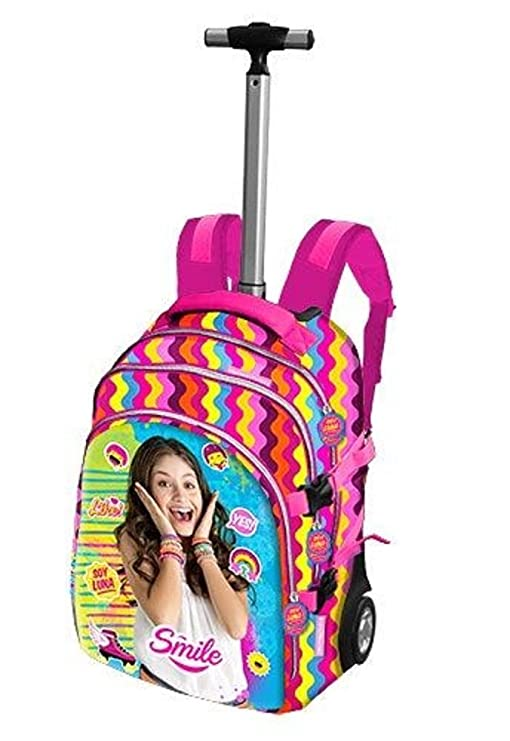 Soy Luna - Disney Channel 52460 - Mochila con Ruedas, Smile: Amazon.es: Juguetes y juegos