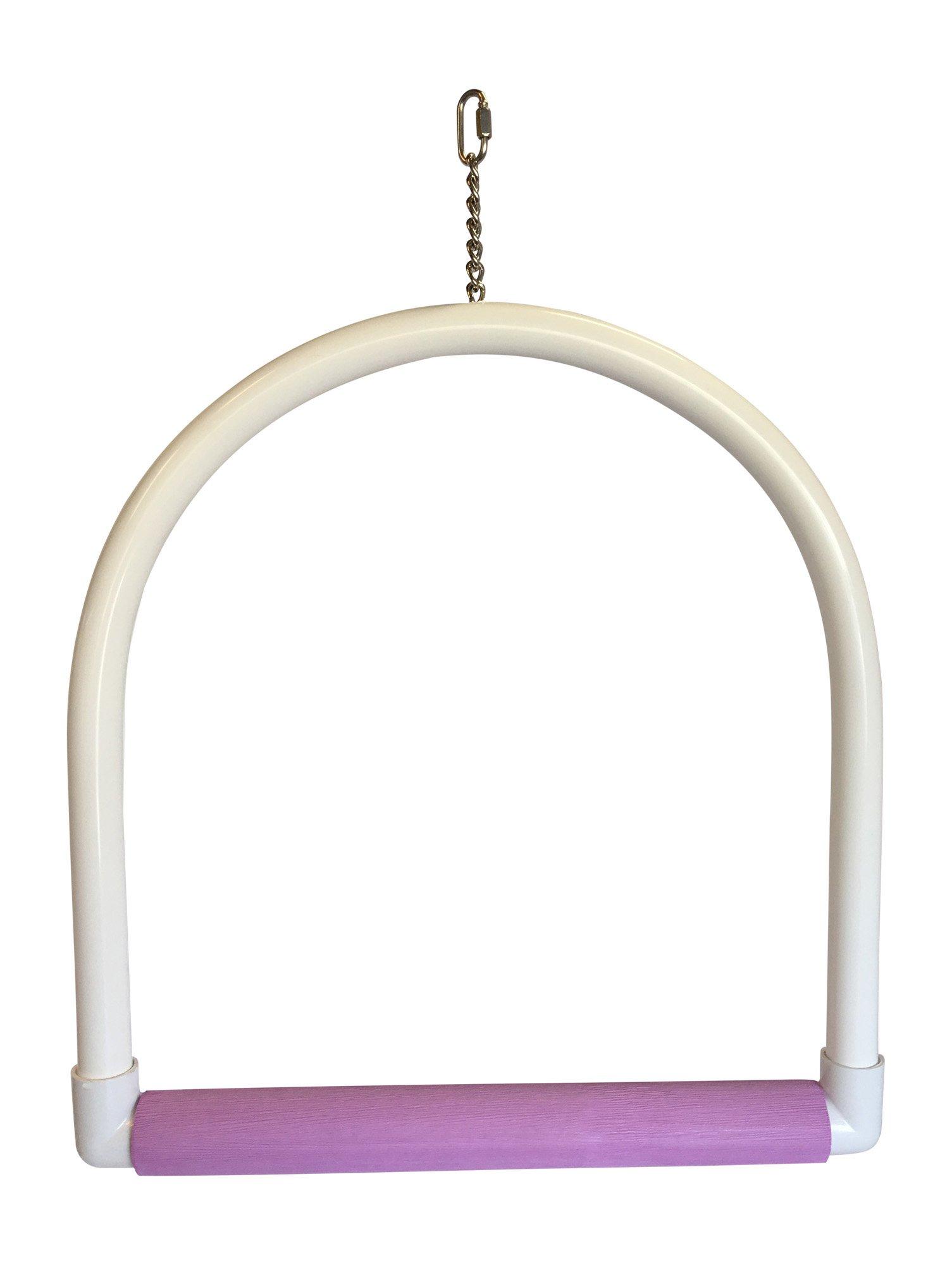 FeatherSmart Parrot Bird PVC Swings (Econo by FeatherSmart Parrot Bird PVC Swings