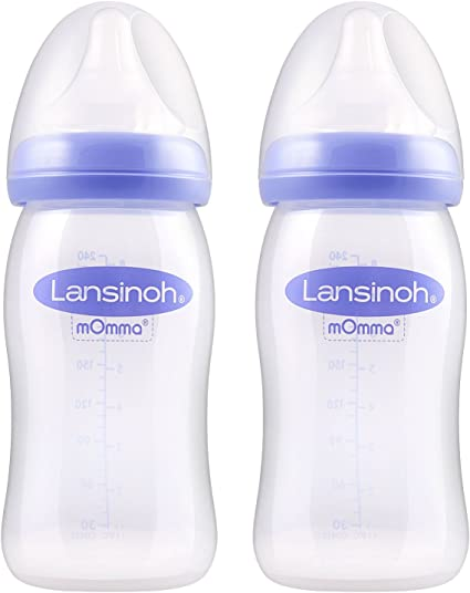 Lansinoh Momma Feeding Bottle With Naturalwave Teat 160 Ml