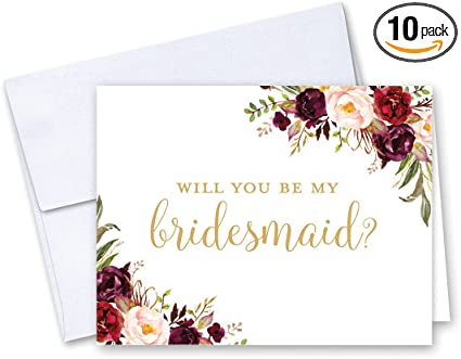 Bride and Groom Cards Will You Be My Bridesmaid Greeting Cards Real Foil Wedding Cards Gold Cards Bridesmaid Card Card Wedding Card