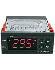 Inkbird 110V All Purpose Digital Temperature Controller Centigrade Thermostat 2 Relays Sensor