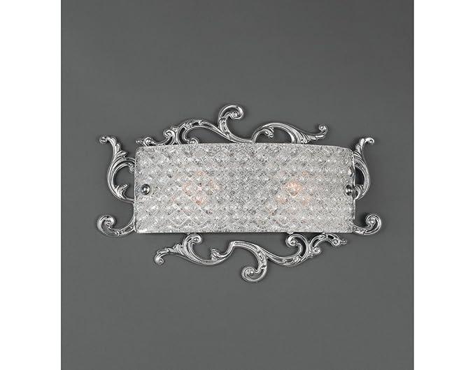 La lampada luigi xvi applique classica da muro in ottone con