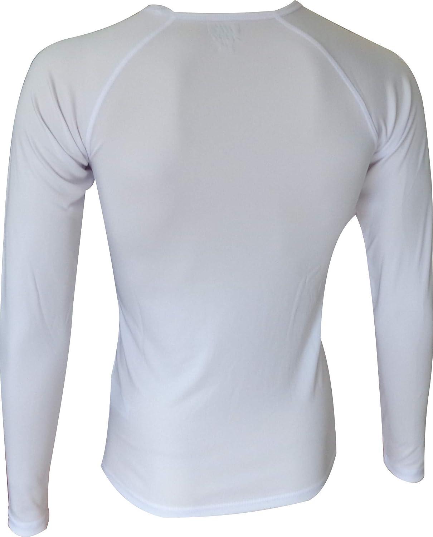 Poliestere termoattivo. EKEKO Confezione Due Camicie Interne Manica Lunga WARMRACE JHKACTIVE Camicia Perfetta per isolarci dal Freddo mantenendo Il Corpo Asciutto