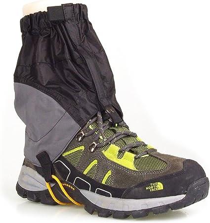 2PCS Waterproof Walking Gators Boot Hiking Climbing Leggings Trekking Gaiters