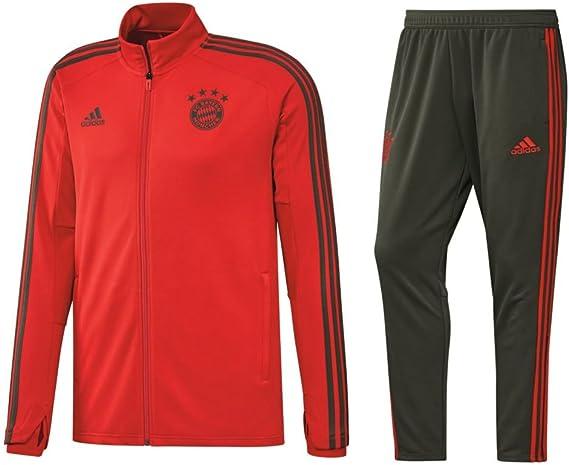 adidas FC Bayern Múnich Chándal 2018 2019 FCB Hombre Chaqueta ...