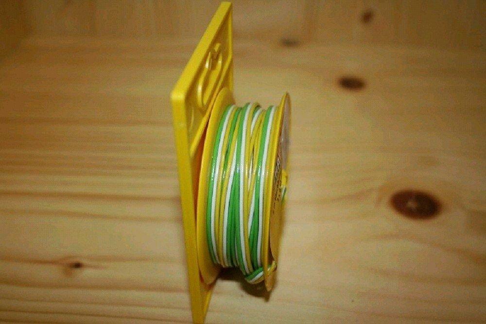 Brawa 3180 FB-Litze 0,14mm 5m gelb/weiß/grün