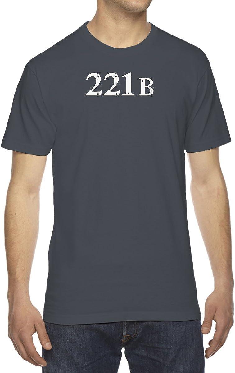 Men's Sherlock Inspired 221B Baker Street T-Shirt