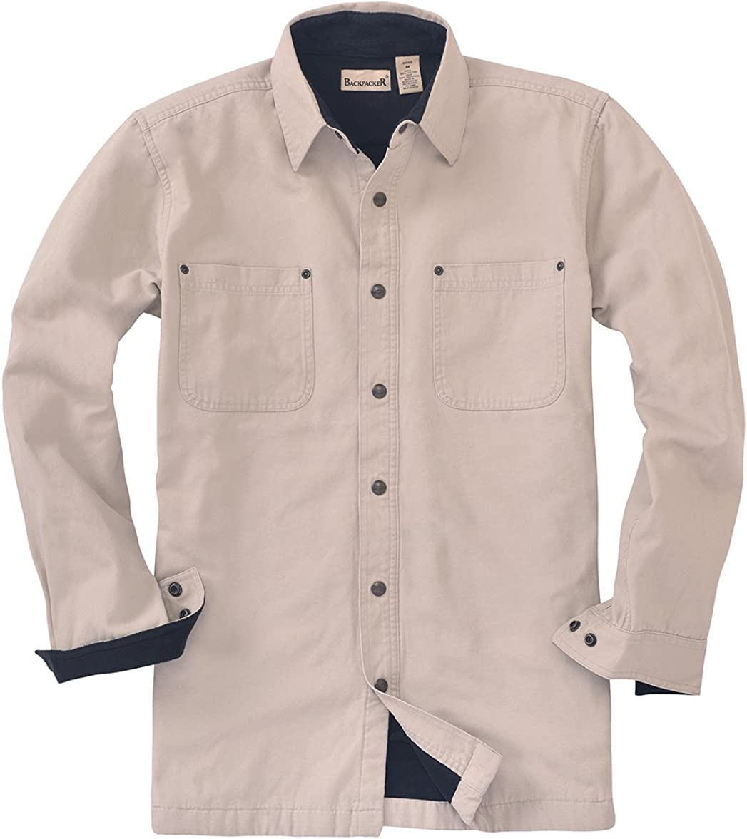 Backpacker Canvas/Fleece Lined Shirt Jacket