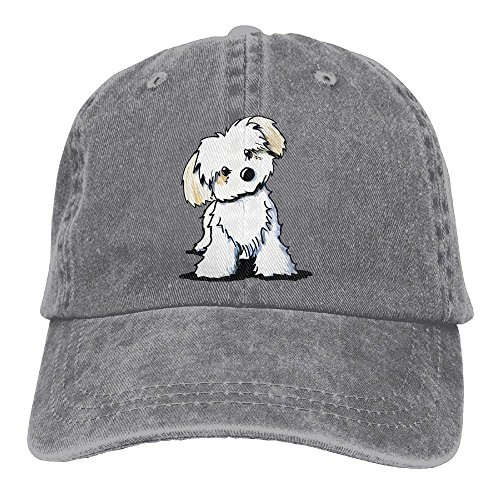 Cute Maltese Puppy Dog.PNG Female Baseball Cap Classic Adjustable Trucker Snapback Hat