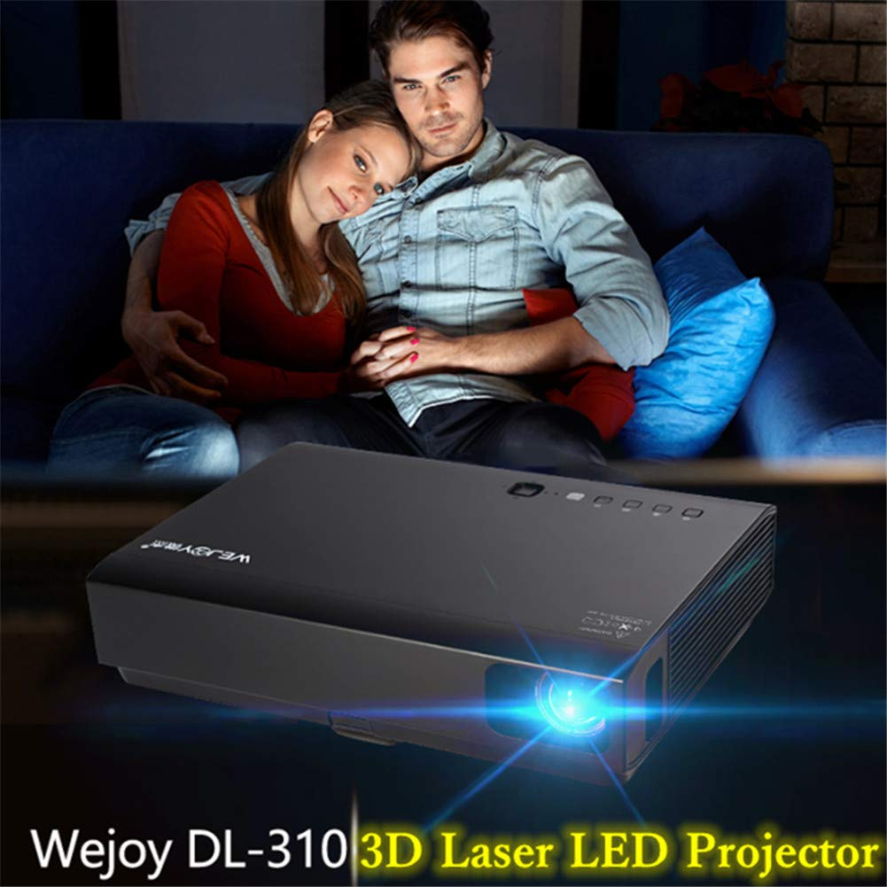Proyector, Inicio 3D láser LED Mini proyector Android Full HD ...