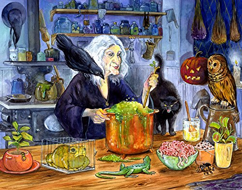 Witches' Brew Countdown to Halloween (Halloween Advent Calendar)