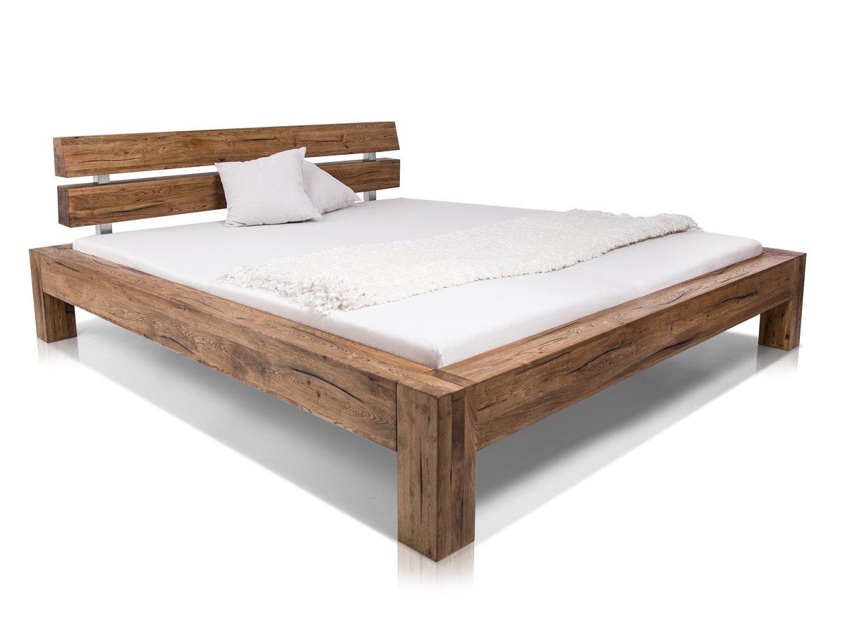 Ortega Massivholzbett Bett Doppelbett Einzelbett Holzbett Eiche In
