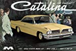 Moebius 1221 1961 Pontiac Catalina Joe Weatherly Race Car Model Kit by Moebius