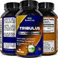 Tribulus Terrestris Extract - Pure Source of Energy (Extremely Potent Formula) - Increases Testosterone & Stamina Levels by 137% - Helps with Body Fat Loss, Muscle & Sleep Benefits - USA Made By Biogreen Labs