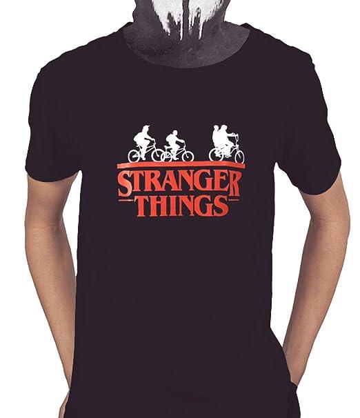 Acokaia Camiseta Stranger Things Negra (XS)