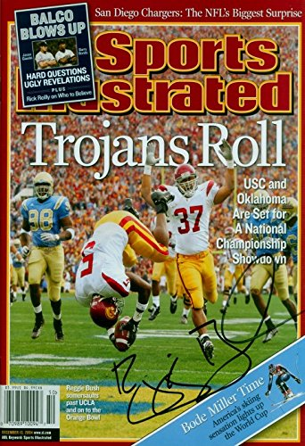 Reggie Bush Trojans Roll Sports Illustrated Autograph Replica Poster - USC Trojans