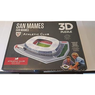 3D Puzzle San Mames Athletic Club Bilbao: Juguetes y juegos