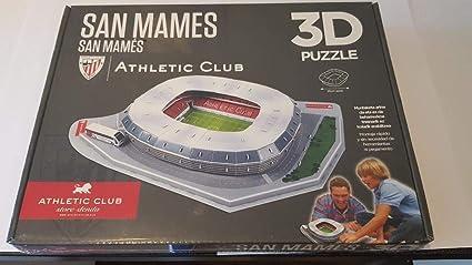 0a50ea850e05a Puzzle 3D San Mames Athletic Club Bilbao  Amazon.es  Juguetes y juegos