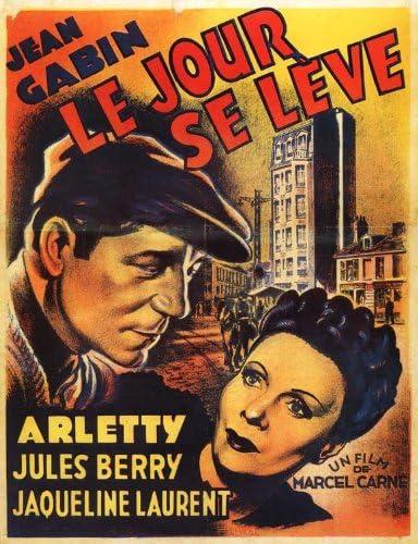 Amazon.com: Movie Posters Le Jour Se Leve - 11 x 17: Posters & Prints