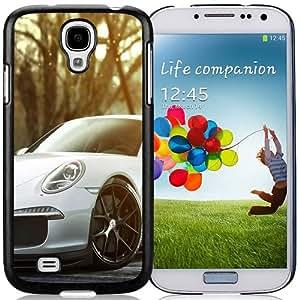 Beautiful Custom Designed Samsung Galaxy S4 I9500 i337 M919 i545 r970 l720 Phone Case For Porsche 911 GT3 White Phone Case Cover