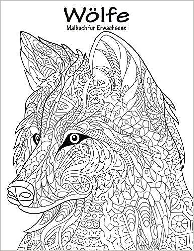 Wölfe-Malbuch für Erwachsene 1: Amazon.de: Nick Snels: Bücher