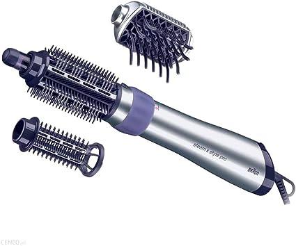 Braun Satin Hair 5 AS530 - Cepillo de pelo moldeador que seca, peina y refresca con el poder del vapor, rizador de pelo, color negro: Amazon.es: Belleza