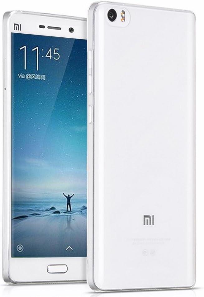 Tumundosmartphone Funda Gel TPU Fina Ultra-Thin 0,3mm Transparente para XIAOMI Mi5 / Mi5 Pro: Amazon.es: Electrónica