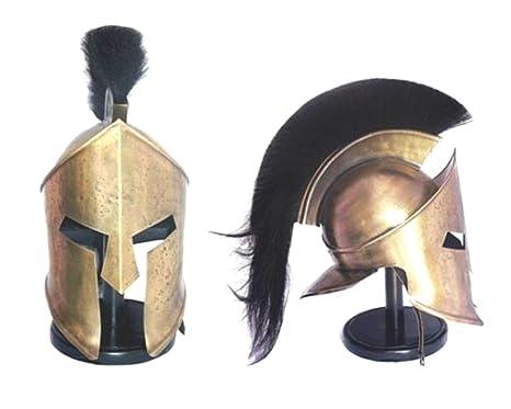 Amazon com: 300 Spartan Helmet King Leonidas Medieval Armor