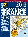 AA Easy Read France 2013 8/e, AA, 0749573805