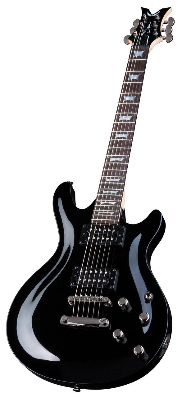 Dean ICONX CBK Guitarra eléctrica de cuerpo sólido, color negro ...