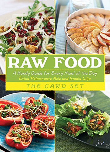 Cookbooks list the best selling raw cookbooks raw food the card set a handy guide for every meal of the day forumfinder Gallery